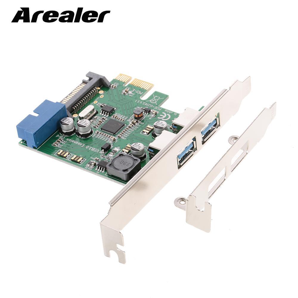 PCI-E Express Card to 2Port Internal 19 Pin USB3.0 Controller Expansion Card
