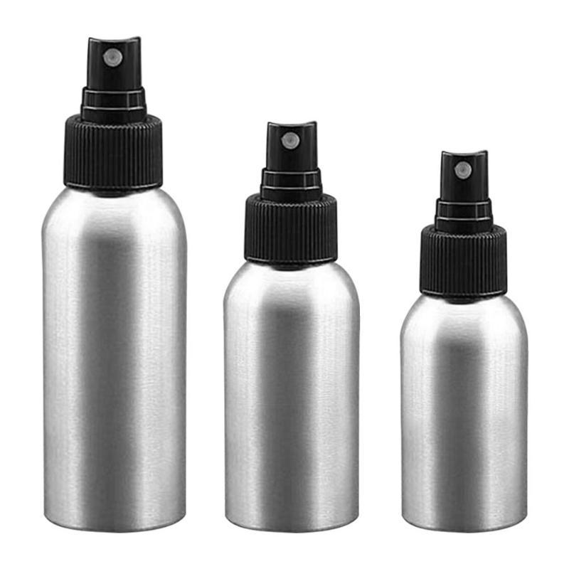 1Pc High Quality Refillable Bottles Salon Hairdresser Sprayer Aluminum Spray Bottle Travel Pump Cosmetic Make Up Tools