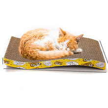 Toy Scratch Board Play Pet Supplies Pad Corrugated Paper Durable Carpet Furniture Cat Scratcher Flat Cardboard(China)