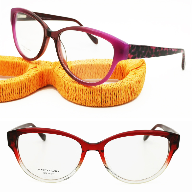 843ac34c34 Cheap Gafas de sol Ópticas Clásicas con bisagra flexible de borde completo  y forma de mariposa