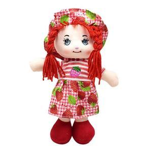 Image 5 - 25cm Cartoon Kawaii owoce spódnica kapelusz szmata lalki miękkie słodkie tkaniny nadzienie zabawki dla dziecka udawaj zagraj dziewczyny prezenty na urodziny, boże narodzenie