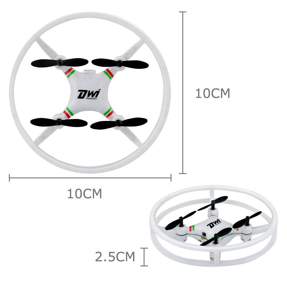 2.4GHz Super Durable Nano Drone Space Trek UFO 4 Axis Gyro RC Mini Aircraft with 3D Flip Flash Light
