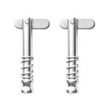2 Pcs 316 Stainless Steel Quick Release Pin Fit For Boat Top Deck Hinge 43mm Boats Hinge Pin Boat Accessories Marine Hardwre цена 2017