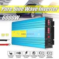 3000W DC 24V To AC 110V Pure Sine Wave Inverter Solar System 24V to 110V Solar Power Inverter