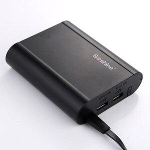 Image 3 - Cep telefonu 4X18650 DIY Pil taşınabilir güç kaynağı kılıfı 5V 2A Çift USB LCD Powerbank Kutusu Taşınabilir DIY pil şarj cihazı Kapağı kabuk