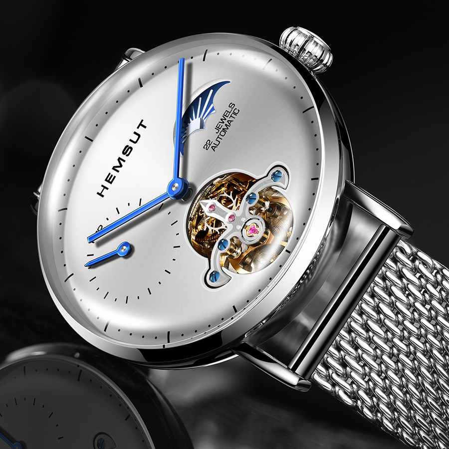Watch Men  Automatic Mechanical Watch Gold Skeleton Vintage Man Watch Mens FORSINING Watch Top Brand Luxury