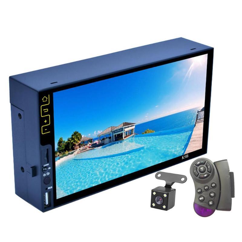 Car Multimedia Player Autoradio 2Din 7Inch HD Car Radio Audio Stereo Touch Screen Auto MP5 Player Bluetooth RDS USB FM Camera