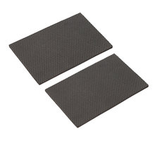 2pcs Table Feet Mat Non-Slip Silent Sticky Antifriction Leg Bottom Feet Cover Floor Protectors for Furniture Table Chair Bed(China)