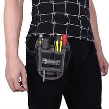 Wielofunkcyjna mechanika sprzętowa torba płócienna na narzędzia elektryk torba płócienna na narzędzia zestaw narzędzi do paska kieszeń etui na organizery tanie tanio Tool Bag alloet Poliester