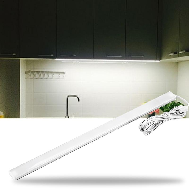 Touch Switch LED Light Bar Dimmable Under Cabinet 5W 30cm 9W 50cm Touch Switch Control Kitchen Led DC12V Rigid Strip Light