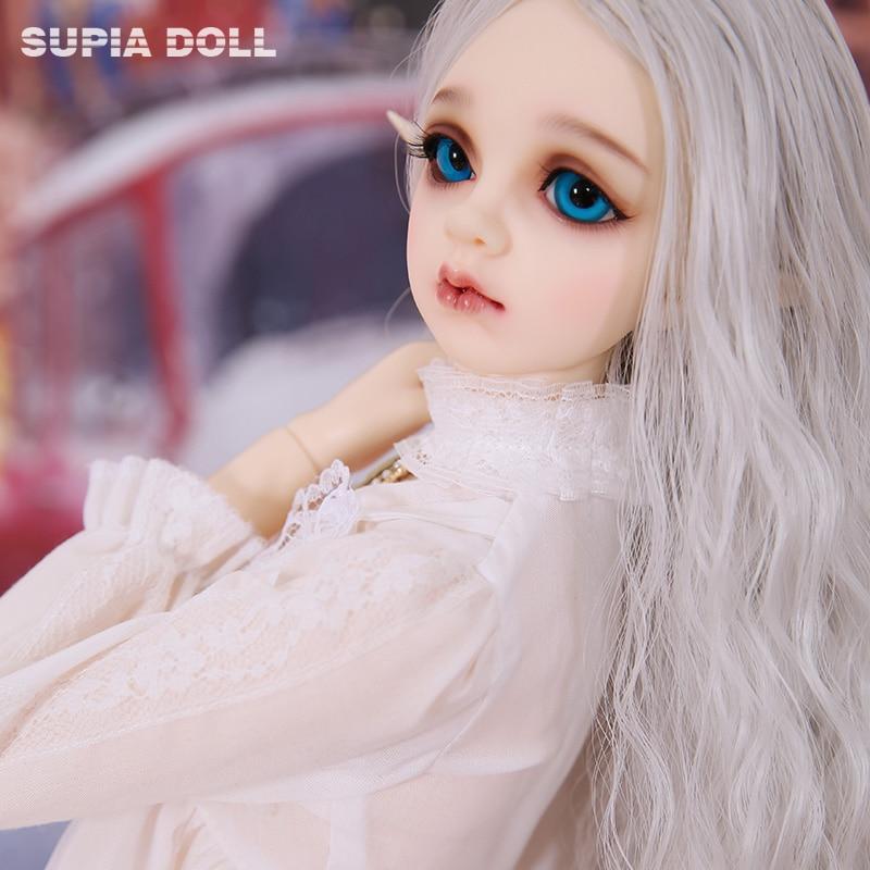 BJD SD Doll Supia Lana 1/3 Resin Figures Body Model Baby Girls Boys High Quality Best Gifts For Birthday Christmas RSdoll Sadol 2