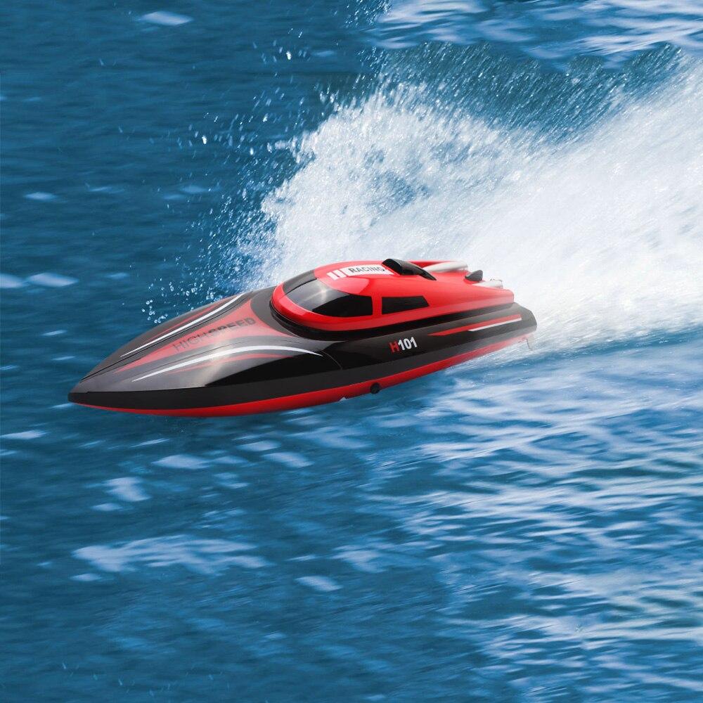 Nouveau bateau de course Skytech H101 2.4G 4CH télécommande de course Yacht bateau jouet Simulation modèle RTR Version jouets de plein air RC bateaux