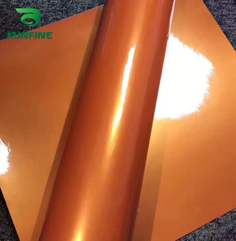 Car Styling Wrap Dream gold orange Car Vinyl film Body Sticker Car sticker With Air Free Bubble For Motorcycle Car Tuning Parts