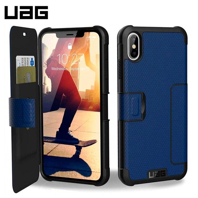 Защитный чехол UAG для iPhone XS Max серия Metropolis цвет синий/111106115050/32/4