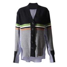 rond sweat col Patchwork