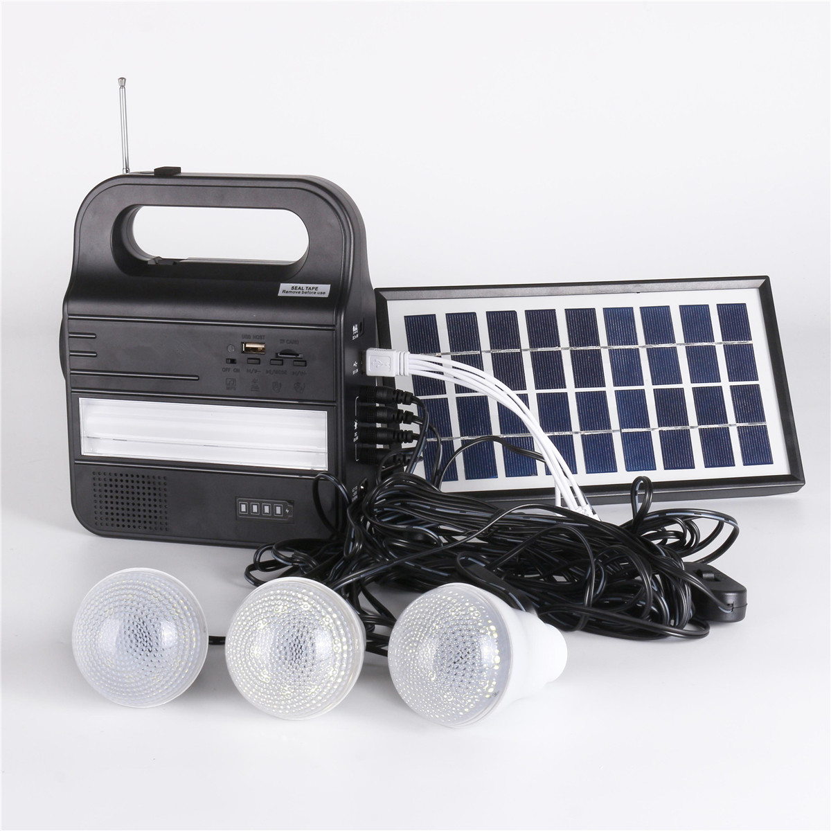 Portable Home Outdoor Solar Panels Charging Generator Power generation System 6V 3W lead acid batteries Energy USB ChargerPortable Home Outdoor Solar Panels Charging Generator Power generation System 6V 3W lead acid batteries Energy USB Charger