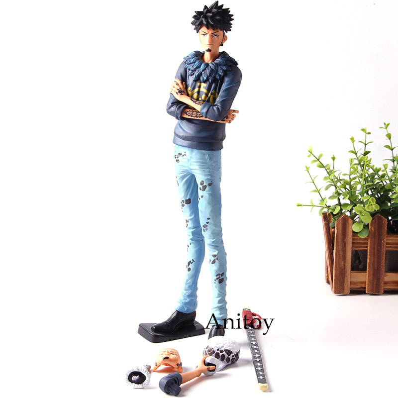 Grandista Banpresto Action Figure One Piece Trafalgar Law The Grandline Men Collection Model Toys for Boys Gifts action figure