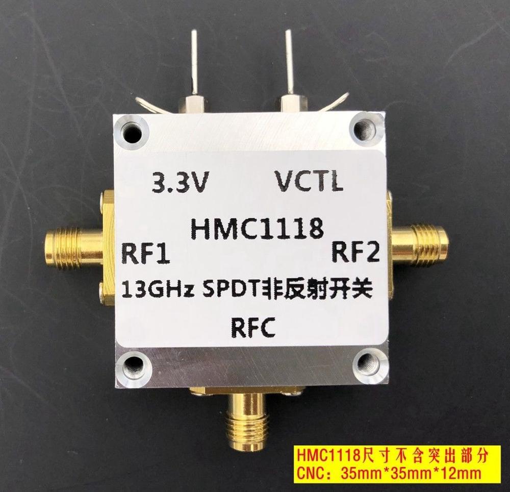 DYKB HMC1118 RF switch 9 KHz 13GHz Broadband Non reflective Single Pole Double Throw SPDT Switch