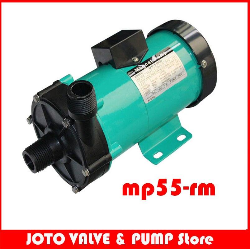 High Pressure Pump 220V 60HZ Water Pump MP 55R Magnetic Drive Pumps Solar System Corrosion Resistance for Liquid