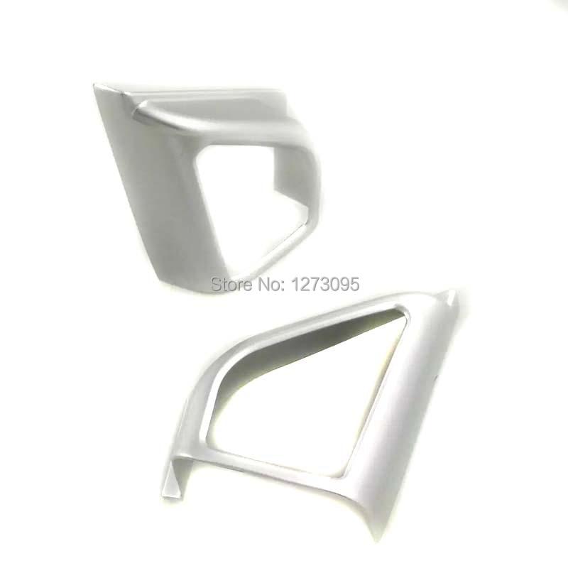 Для Chevrolet Cavalier 2018 ABS передняя дверь интерьер столб боковой треугольник отделка рамка Защитная крышка автомобиля аксессуары для укладки