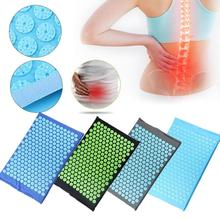1PC Acupressure Massager Mat Yoga Massage Relieve Stress Neck Back Foot Cushion For Body Pain Relief