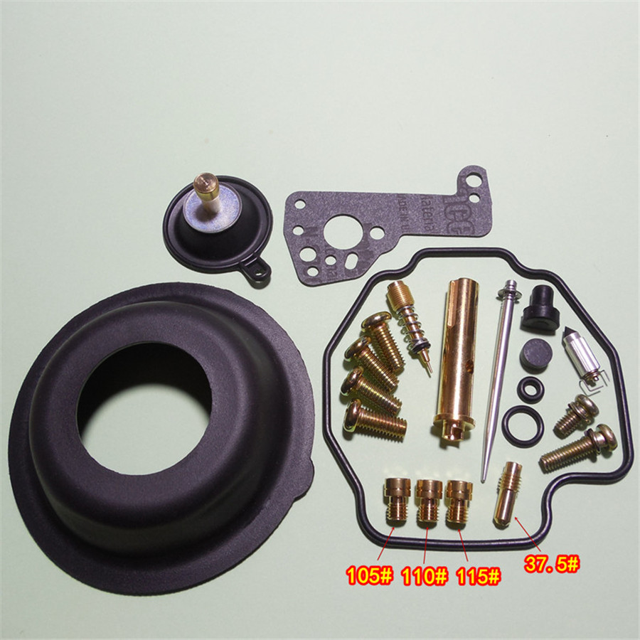 Motorcycle <font><b>Carburetor</b></font> Repair Kit With Large and Small Diaphragm for YM <font><b>Virago</b></font> <font><b>XV400</b></font> (2NT)3JB image