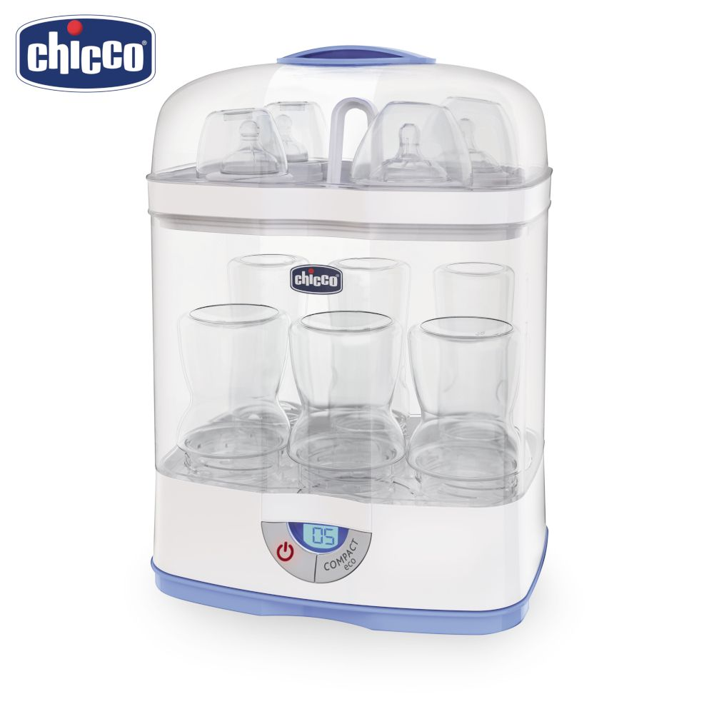 Warmers & Sterilizers Chicco 62866 Sterilizer for bottles for children boys and girls kids baby children room decor hung dome baby crib mosquito net princess mosquito nets for baby girls infant crib netting baby bed curtain