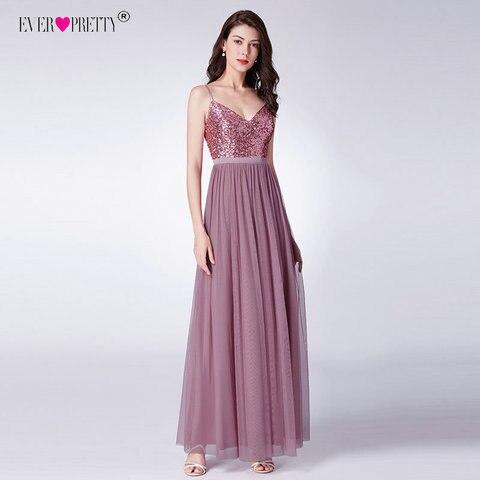 Dust Pink Bridesmaid Dresses Long Ever Pretty Women Elegant Dresses For Weddings Party Guest Gowns Vestido De Festa Longo 2019 Karachi