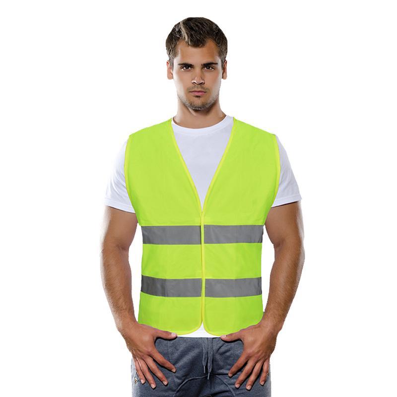 Image 5 - Unisex Car Motorcycle Reflective Safety Clothing High Visibility Safety Reflective Vest Warning Coat Reflect Stripes Tops Jacket-in Reflective Safety Clothing from Automobiles & Motorcycles