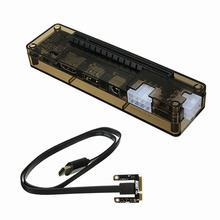 Абсолютно PCIe PCI-E PCI Ноутбук внешняя независимая видеокарта док-станция Экспресс-карта мини PCI-E версия для V8.0 EXP GDC