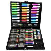 Art de luxe ensemble, 150 pièces enfants dessin peinture croquis outils ensemble aquarelle stylo Crayon huile Pastel peinture pinceau dessin stylo