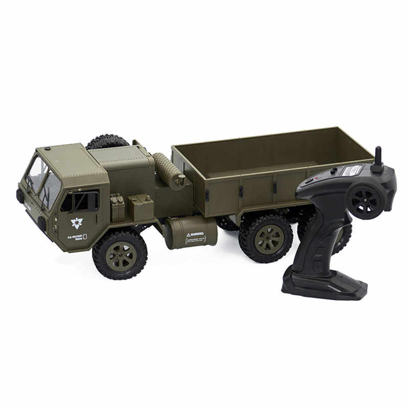 Fayee FY004A 1/16 2.4G 6WD 15 km/h Rc Auto Proportionele Controle Militaire Geborsteld Motor Cars RTR Model Outdoor voertuig Speelgoed