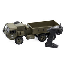 Fayee FY004A 1/16 2.4G 6WD 15km/h Rc Car Proportional Control Army Military Brushed Motor Cars RTR Model Outdoor Vehicle Toys(China)