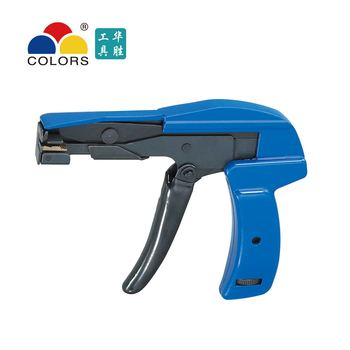 HS-600A fastening and cutting tool special for cable tie gun for nylon cable tie width 2.4-4.8mm hs 519 2 4 9 mm cable tie gun tensioning and cutting tool for plastic nylon cable tie or fasteners