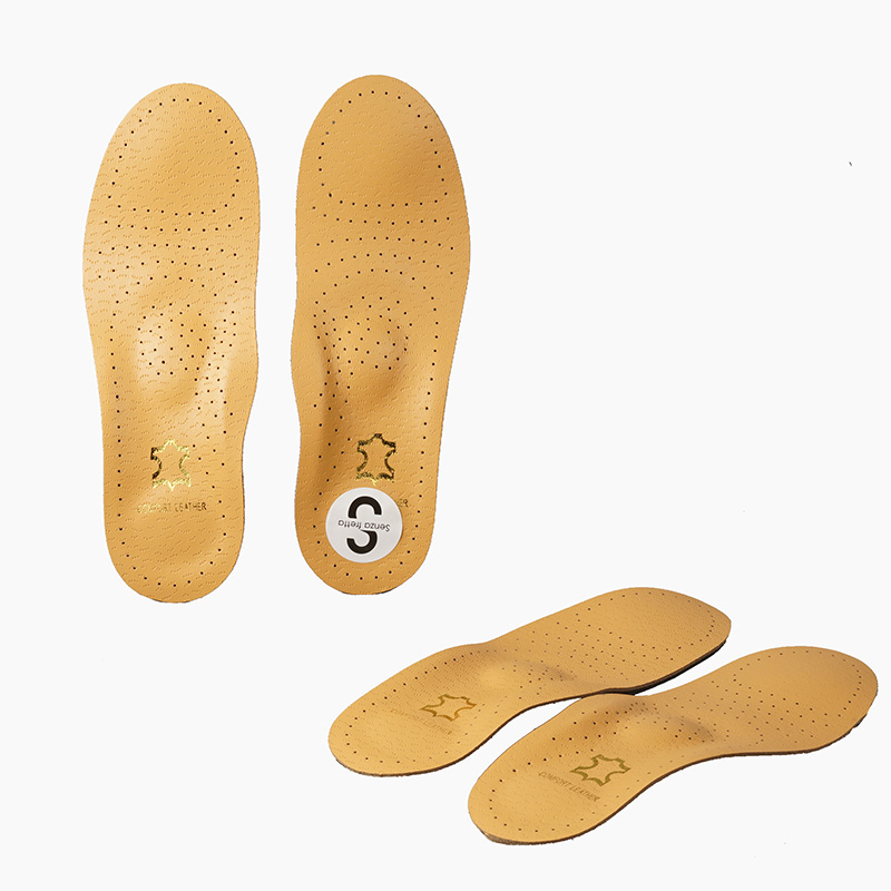 Unisex Leather Orthotic Flat Foot Shoe Insoles Foodbed High Arch Support Orthopedic Pad for Correction OX Leg Health foot Care