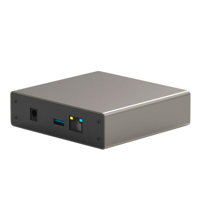 BLUEENDLESS Gigabit Ethernet Nas Hdd Enclosure Smart Hdd Case For 2.5 Inch Hard Disk Gigabit Ethernet Interface Nas Remote Acc
