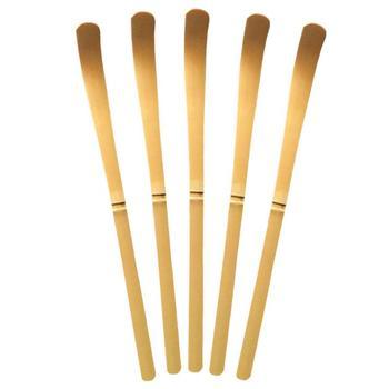 Handmade White Bamboo Matcha Spoon Clean Tea Set Teaspoon Matcha Tool Not Easy Deform With Break Durable Tea Needle japanese tea brush practical matcha tea powder bamboo 64 whisk green tea chasen brush tool