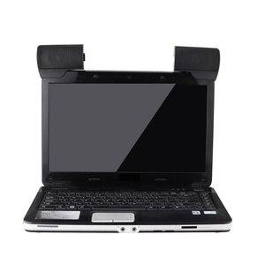Image 5 - ミニポータブルusbステレオスピーカーサウンドバーノートパソコン用Mp3電話音楽プレーヤーコンピュータpcクリップ黒