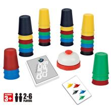 Desktop Parent-Child Interactive Puzzle Classic Card Games Outdoor Indoor Speed Cups Family Children Board Quick Funny Toys