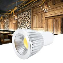 цена на spotlight AC200-245V GU10 5W LED Spotlight Bulb COB Light Lamp Warm White for Home Hotel Bar led spotlight outdoor floodlights