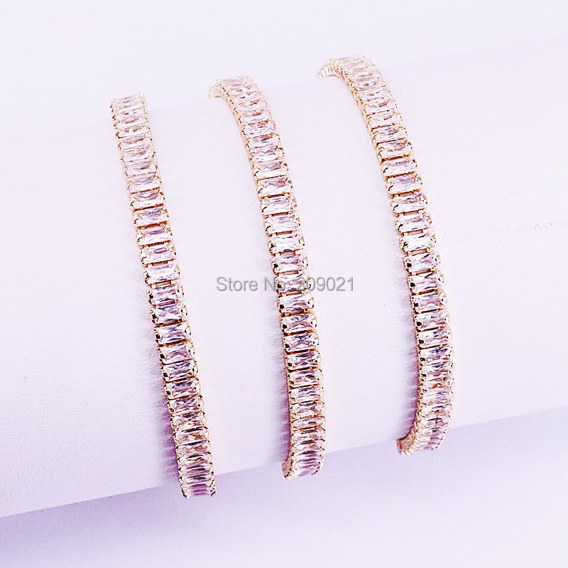 Image 5 - 10Pcs Hot New White Cubic Zirconia Pave Nicest Adjustable Fashion