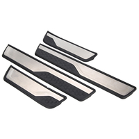 4Pcs/Set Durable Auto Door Sill Trim Strip Cover Welcome Pedal Plate Panel Protector Guard For Honda CR V CRV 2017 2018