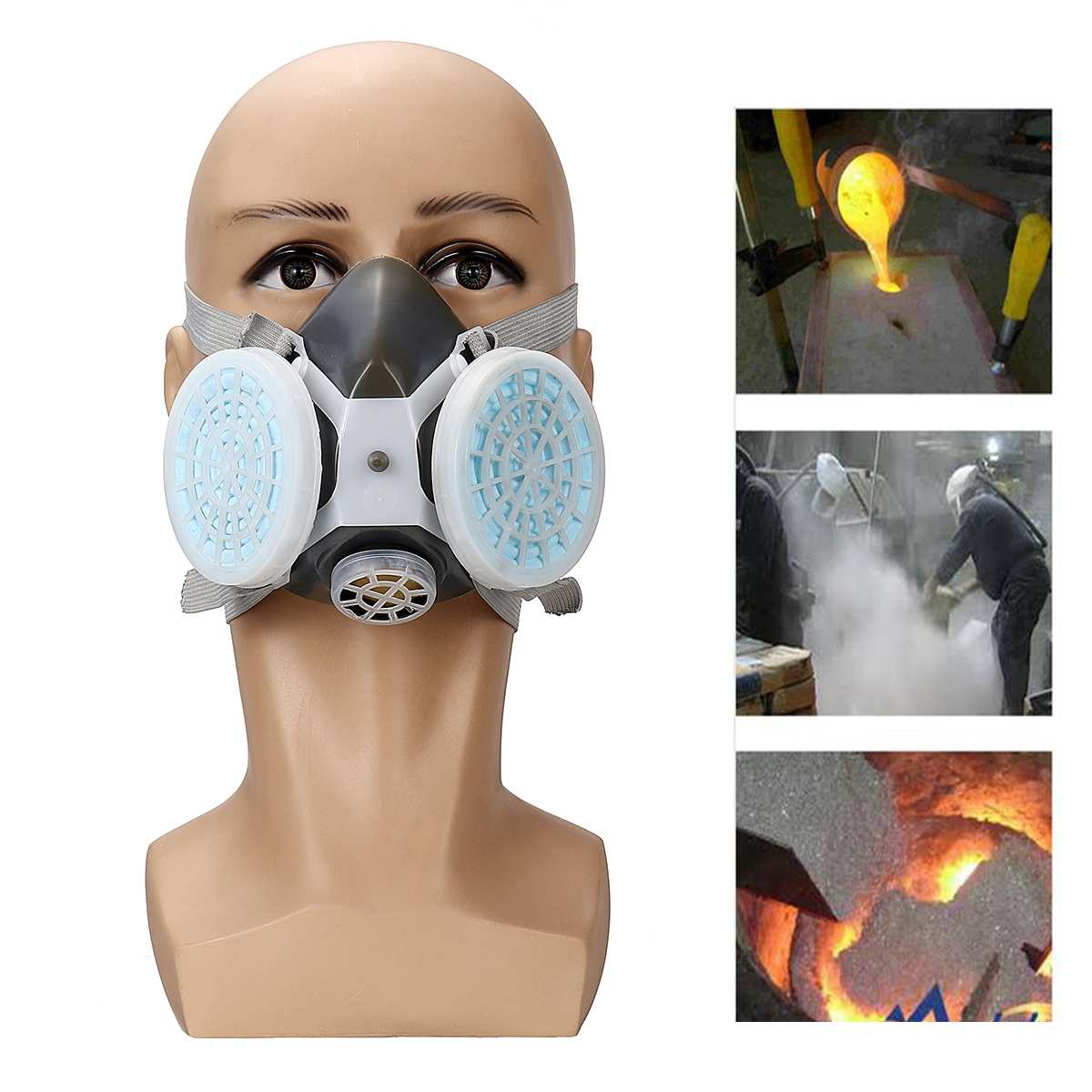 Masks 90 Percent Filter Industry Respirator Disposable Non-woven Protective Anti Fog Dust Pm2.5 Mask Hot Sale 2019 Workplace Safety Supplies