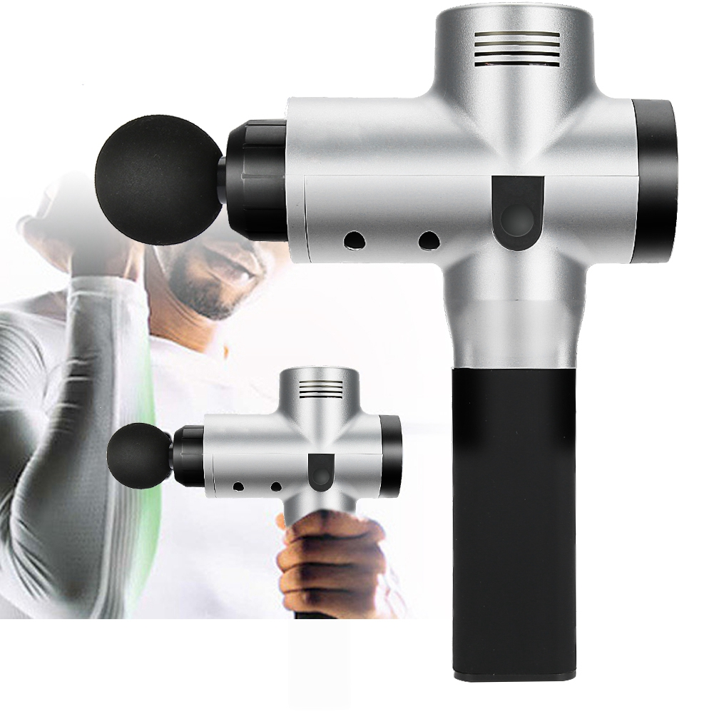 Professional Deep Muscle Therapy Massage Gun Percussion Body Relax Theragun Massager US Plug Face Care Tools dc percussive therapy athlete