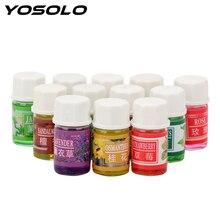 YOSOLO 12 Pieces/set Car Perfume for Humidifier Air Freshene