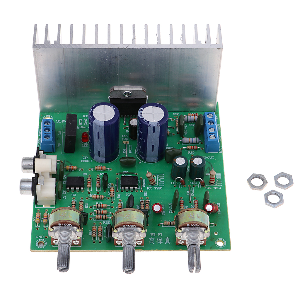 Tda7265 Subwoofer Digital Power Amplifier Board Audio Stereo Amp 2 Channel Circuit Module 40w In Computer Cables Connectors From Office On