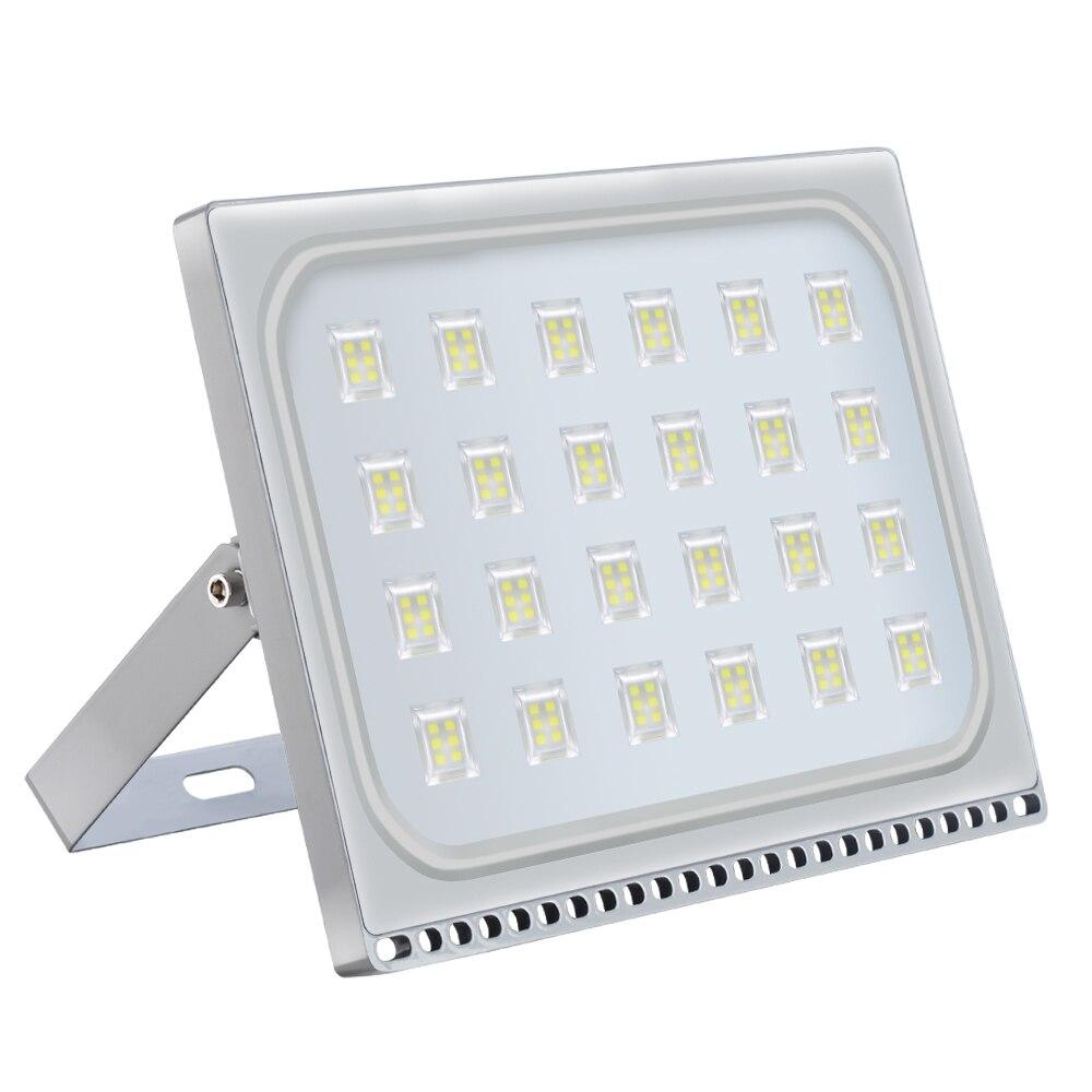 10PCS Ultra Thin 110V 220V LED Flood Lights 150W LED Floodlight IP65 Waterproof Flood Lighting Outdoor Security Lighting Lamp
