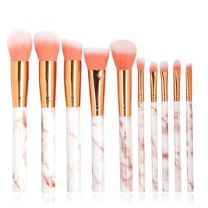Plastic Makeup Brush Set 10 Ma