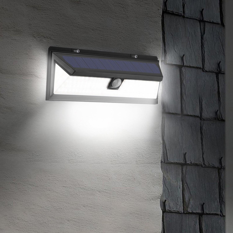 102 Led Wall Light Solar Powered Pir Motion Sensor Light