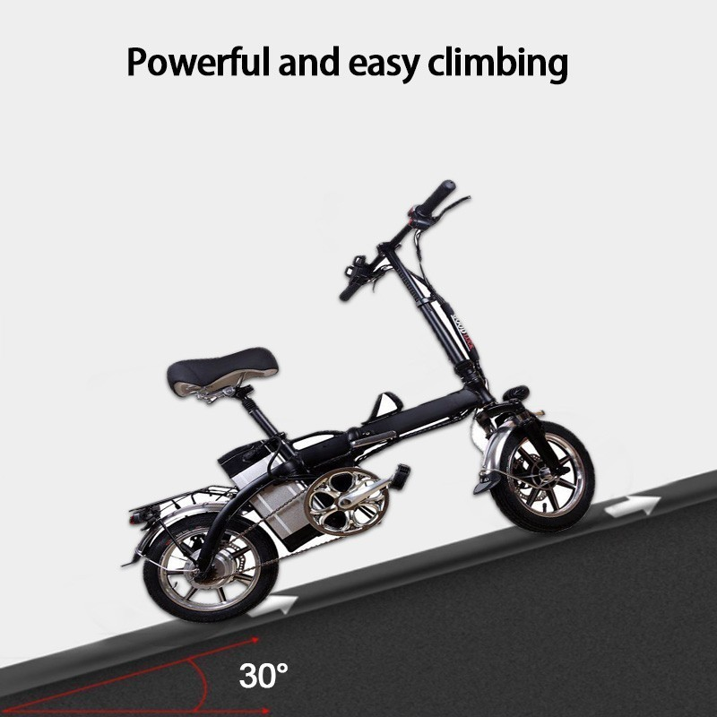 powerful Electric bike Power Fold Bicycle A Mountain Electric Power Vehicle Light Lithium Battery